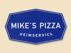 Mikes Pizza Logo