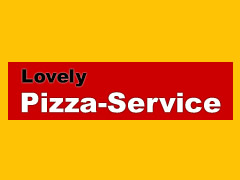 Lovely Pizza Service Logo