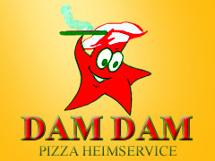 City Pizza Dam Dam Logo