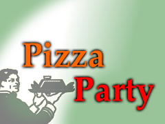 Pizza Party Logo