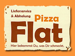 Pizza Flat Logo