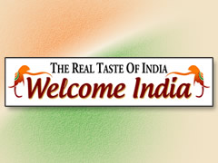 Welcome India Logo