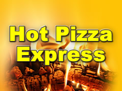 Hot Pizza Service Logo