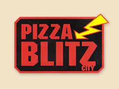 Pizza Blitz City Logo