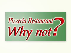Pizzeria-Restaurante Why Not Logo