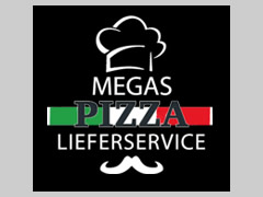 Pizza Express Megas Logo